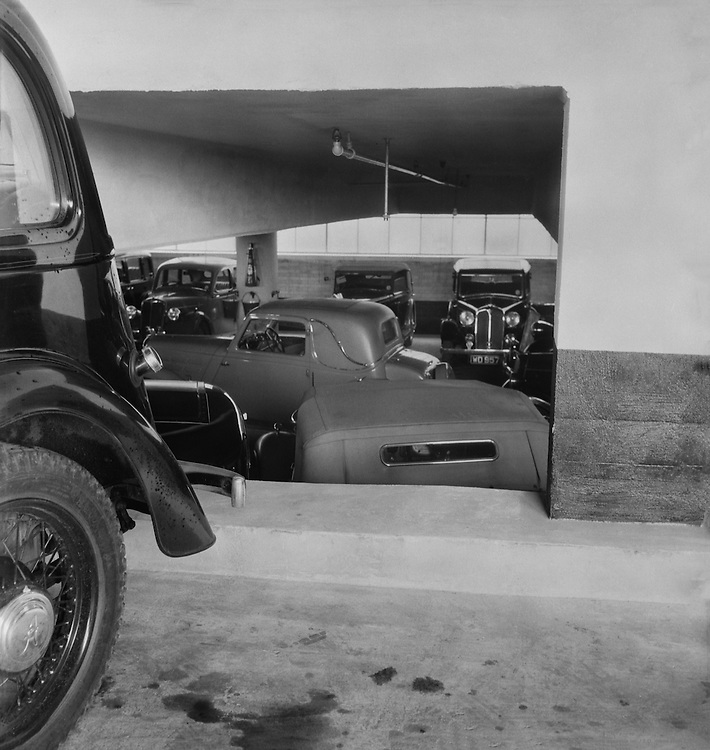 Olympia Car Park, London, 1937