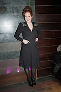 KATHERINE PARKINSON, Absent Friends - press night  afterparty. Mint Leaf. Haymarket. London. Thursday 9 February 2012