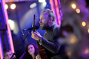 Sting performs at the 2015 Rockefeller Center Christmas Tree Lighting Ceremony, Wednesday, Dec. 2, 2015 in New York. (Photo by Diane Bondareff/Invision for Tishman Speyer/AP Images)
