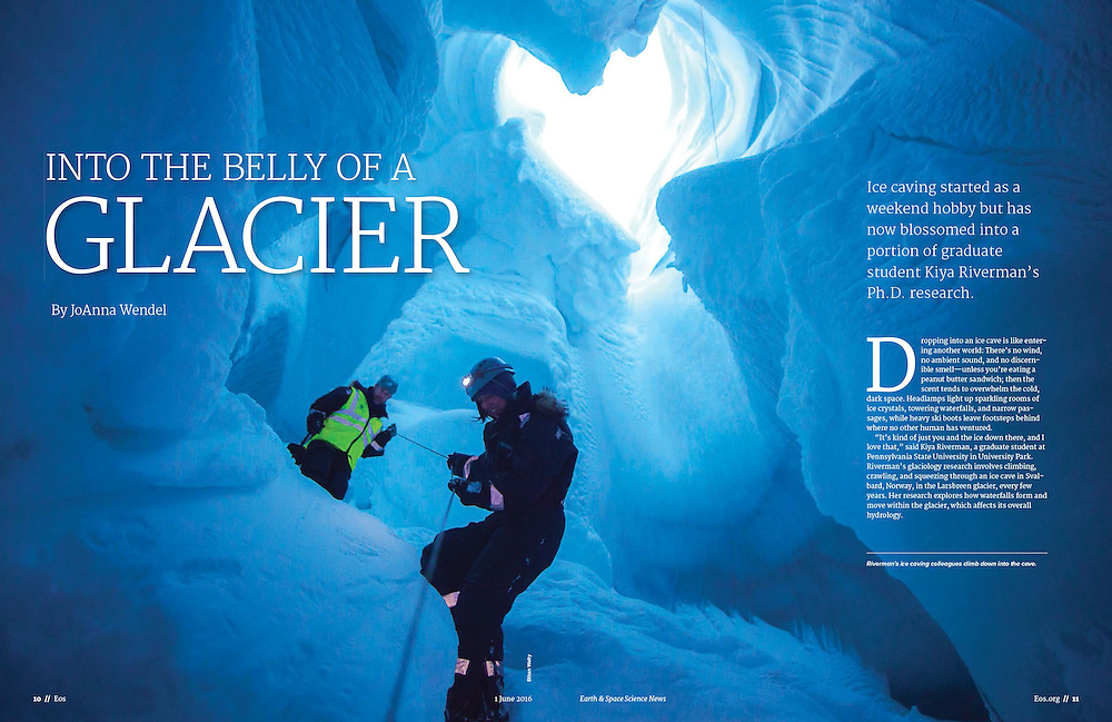 EOS: Into the Belly of a Glacier (June 2016)