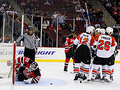 October 24, 2008: Philadelphia Flyers at New Jersey Devils