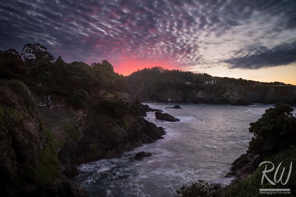 Mendocino County Coast Sunrise, Little River, California