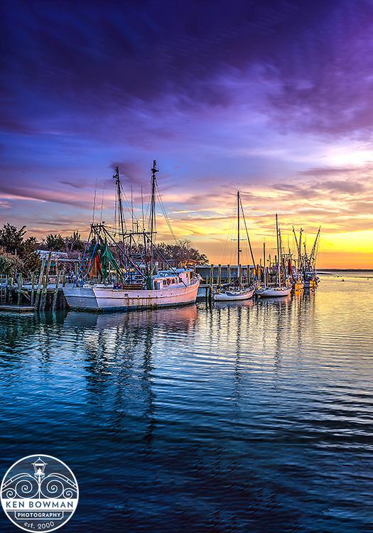 Shem Crreek Shrimp Boats 2017.