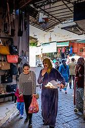 Street scene in a souk in the medina in Marrakech, Morocco, North Africa<br /> <br /> (c) Andrew Wilson | Edinburgh Elite media