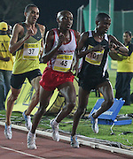 STELLENBOSCH, SOUTH AFRICA, Tuesday 20 March 2012, Gladwin Mzazi (45) in the mens 5000m during the Yellow Pages Series athletics meeting at the University of Stellenbosch Coetzenburg stadium..Photo by Roger Sedres/Image SA