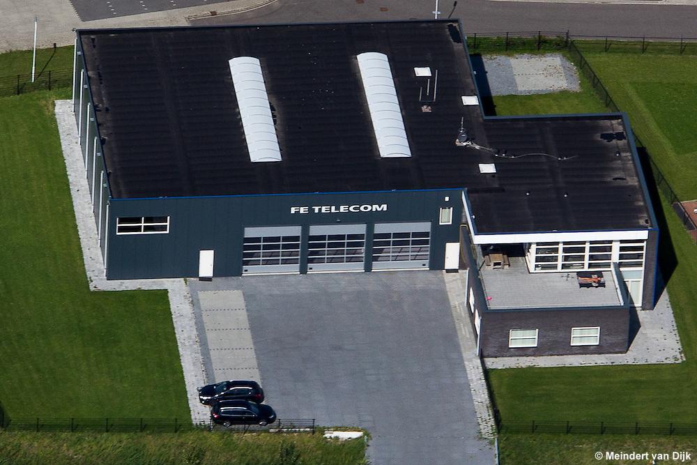 Bedrijfslocatie van FE Telecom op Industriegebied Middelsee in Stiens. Observatie en communicatie techniek. Meer info: https://www.facebook.com/FEtelecom, http://www.fe.nl/  en http://commandowagen.eu/
