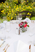 Dining Table Set Outside