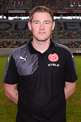 02.07.2015, Esprit Arena, Duesseldorf, GER, 2. FBL, Fortuna Duesseldorf, Fototermin, im Bild Physiotherapeut Marcel Verstappen ( Fortuna Duesseldorf / Portrait ) // during the official Team and Portrait Photoshoot of German 2nd Bundesliga Club Fortuna Duesseldorf at the Esprit Arena in Duesseldorf, Germany on 2015/07/02. EXPA Pictures &copy; 2015, PhotoCredit: EXPA/ Eibner-Pressefoto/ Thienel<br /> <br /> *****ATTENTION - OUT of GER*****