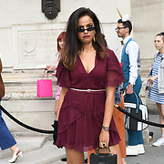 Geegesworld - Areej Shabaa attend Fashion Scout - SS19 - London Fashion Week - Day 2, London, UK. 15 September 2018.