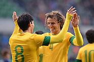 Fussball international: Japan - Brasilien