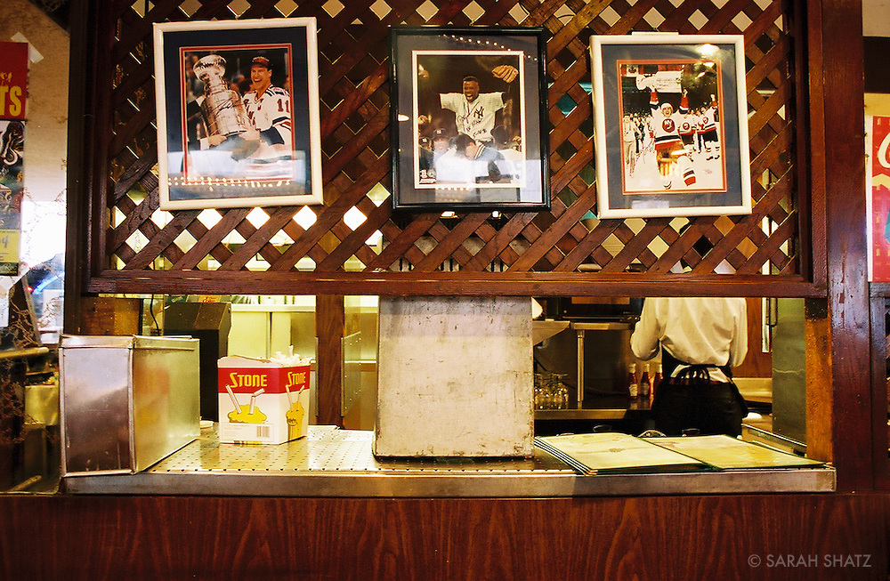 Former Howard Johnson's restaurant counter in Times Square