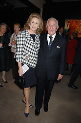 LORD & LADY WOLFSON OF MARYLEBON at the Sotheby's Summer Party 2007 at their showrooms in New Bond Street, London on 4th June 2007.<br />