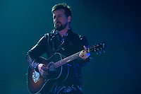 KELOWNA, CANADA - MARCH 30:  Raine Maida of Our Lady Peace performs on March 30, 2018 at Prospera Place in Kelowna, British Columbia, Canada.  (Photo by Marissa Baecker/Shoot the Breeze)  *** Local Caption ***