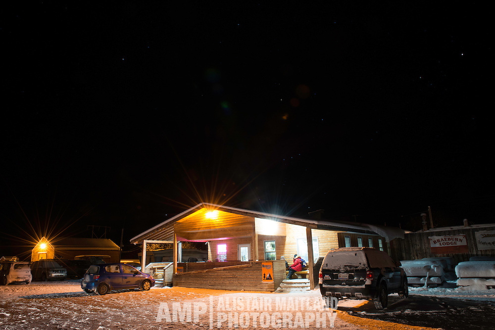 Braeburn Lodge. Home of the giant cinnamon bun and haven for mushers, organizers, handlers, veterinarians and volunteers.