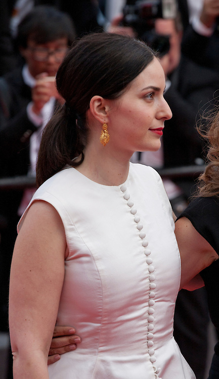 Rebecca Zlotowski at the Closing ceremony and premiere of La Glace Et Le Ciel at the 68th Cannes Film Festival, Sunday 24th May 2015, Cannes, France.