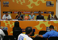 Football-FIFA Beach Soccer World Cup 2006 - Press Conference before the Final match , Beachsoccer World Cup 2006. Rio de Janeiro - Brazil 11/11/2006. Mandatory credit: FIFA/ Manuel Queimadelos