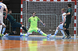 Tjaz Lovrencic of Slovenia during futsal friendly match between National teams of Slovenia and Italy, on December 3, 2019 in Maribor, Slovenia. Photo by Milos Vujinovic / Sportida