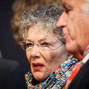 NLD/Utrecht/20150923 - Opening NFF 2015, filmpremiere J. Kessels, Willeke van Ammelrooy en partner Marco Bakker