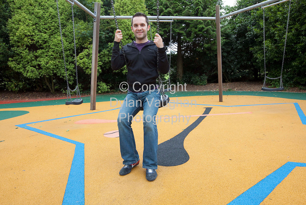 6/8/2009.Declan Cashin pictured in the castle park playground in Kilkenny..Picture Dylan Vaughan.