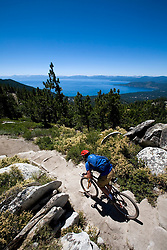 Dave Smoyer on the Tahoe Rim Trail