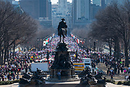 Women's March on Philadelphia, 2018.