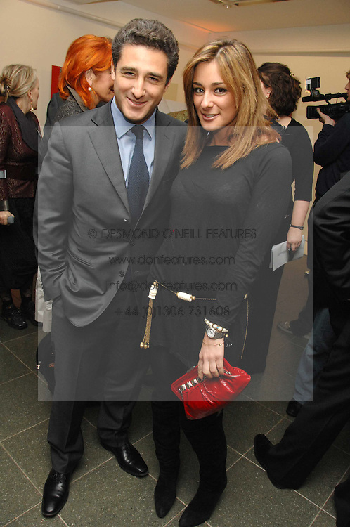 LUCA DEL BONO and his sister MELISSA DEL BONO at a party to celebrate the publication of Vivienne Westwood's Opus held at The Serpentine Gallery, Kensington Gardens, London W2 on 12th February 2008.<br /><br />NON EXCLUSIVE - WORLD RIGHTS