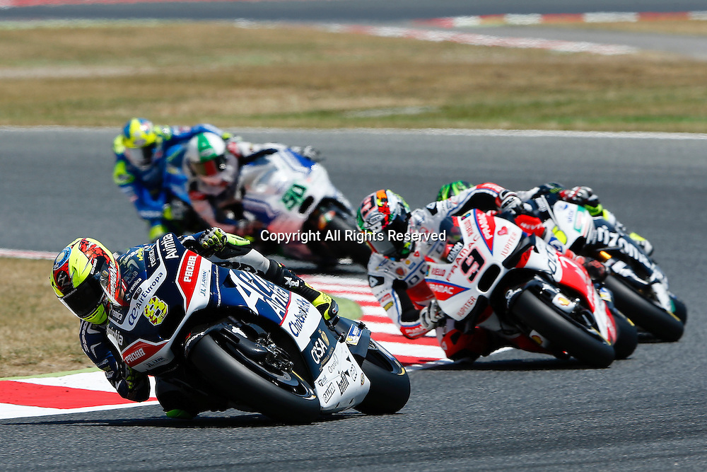 05.06.2016. Circuit de Barcelona, Barcelona,Spain. Grand Prix Monster Energy de Catalunya. Leaders in action at the Circuit de Montmelo in Barcelona, Spain, June 5, 2016 .