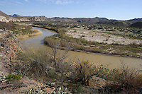 Rio Grande from River Road,  Big Bend Ranch State Park, Texas
