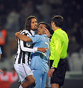 Amauri argues with the referee after being sent off. 31st October 2009.<br /> <br /> <br />  ** NO AGENTS **