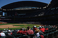 PHOENIX, AZ - APRIL 2:  General view of Chase Field as the ground crew prepares the field for the Opening Day game between the San Francisco Giants and Arizona Diamondbacks at Chase Field on Sunday, April 2, 2017 in Phoenix, Arizona. (Photo by Jennifer Stewart/MLB Photos via Getty Images) *** Local Caption ***