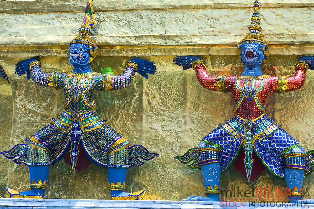 Giants of the Ramakien epic tale.<br />