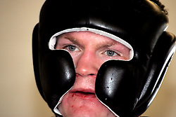 Ricky Hatton trains for his upcoming fight with Jose Luis Castillo at the Beta Bodies Gym in Manchester, England, 25th May 2007.