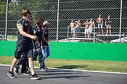 September 1, 2016: Carlos Sainz Jr. Scuderia Toro Rosso , Italian Grand Prix at Monza