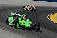 James Hinchcliffe, Milwaukee IndyFest, Milwaukee Mile, West Allis, WI 06/16/12
