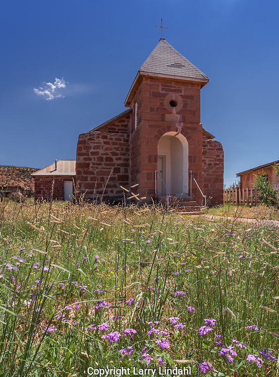 Church, Cuervo, New Mexico, Route 66