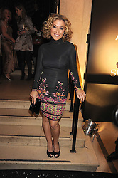 Singer Anastacia at the 2008 British Fashion Awards held at the Lawrence Hall, Westminster, London on 25th November 2008.