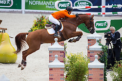 Gerco Schroder, (NED), Glocks London NOP - Team & Individual Competition Jumping Speed - Alltech FEI World Equestrian Games™ 2014 - Normandy, France.<br /> © Hippo Foto Team - Leanjo De Koster<br /> 02-09-14