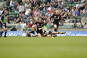 The Middlesex Sevens, Twickenham Stadium, Twickenham, GREAT BRITAIN, 12.08.2006. Rugby,  London Wasps vs Saracens.   Photo  Peter Spurrier/Intersport Images.email images@intersport-images.com...