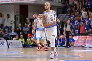 DESCRIZIONE : Beko Legabasket Serie A 2015- 2016 Dinamo Banco di Sardegna Sassari -Vanoli Cremona<br /> GIOCATORE : David Logan<br /> CATEGORIA : Ritratto Esultanza<br /> SQUADRA : Dinamo Banco di Sardegna Sassari<br /> EVENTO : Beko Legabasket Serie A 2015-2016<br /> GARA : Dinamo Banco di Sardegna Sassari - Vanoli Cremona<br /> DATA : 04/10/2015<br /> SPORT : Pallacanestro <br /> AUTORE : Agenzia Ciamillo-Castoria/L.Canu