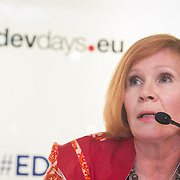 04 June 2015 - Belgium - Brussels - European Development Days - EDD - Financing - Creating a fairer and more sustainable international tax system - What is the EU's role? - Lina Soiri , Director © European Union