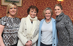 Anne Staunton, Ann Staunton, Breeda Gannon and Amy Staunton enjoying the Neven Maguire cookery demonstration in aid of the Aoife Beary fund at Hotel Westport. Pic Conor McKeown