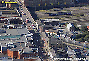 aerial photograph of  Fishergate Preston  Lancashire , England UK