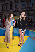 GEORGIANA ANSTRUTHER-GOUGH-CALTHORPE, ISABELLA CALTHORPE, Royal Academy Summer Exhibition party. Burlington House. Piccadilly. London. 6 June 2018