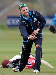 Somerset's Coach Paul Tweddle - Photo mandatory by-line: Harry Trump/JMP - Mobile: 07966 386802 - 23/03/15 - SPORT - CRICKET - Pre Season Fixture - Day 1 - Somerset v Glamorgan - Taunton Vale Cricket Club, Somerset, England.
