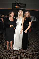 Left to right, BEC CLARKE, POPPY DELEVINGNE and AMBER AIKENS at a party to celebrate the launch of the Astley Clarke Fine Jewellery Collection held at The Connaught hotel, London W1 on 28th February 2008.<br /><br />NON EXCLUSIVE - WORLD RIGHTS