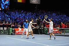 Davis Cup Final - France V Belgium - 25 Nov 2017