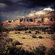 Ghost Ranch. Northern New Mexico.