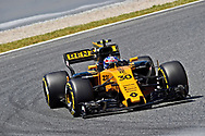 Jolyon Palmer of Renault Sport during the practice session of the Spanish Formula One Grand Prix at Circuit de Catalunya, Barcelona, Spain.<br /> Picture by EXPA Pictures/Focus Images Ltd 07814482222<br /> 12/05/2017<br /> *** UK &amp; IRELAND ONLY ***<br /> <br /> EXPA-EIB-170512-0174.jpg