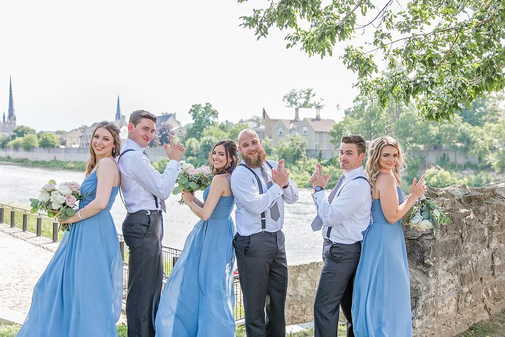 Megan & Tyler's Beautiful Summer Cambridge Mill Wedding