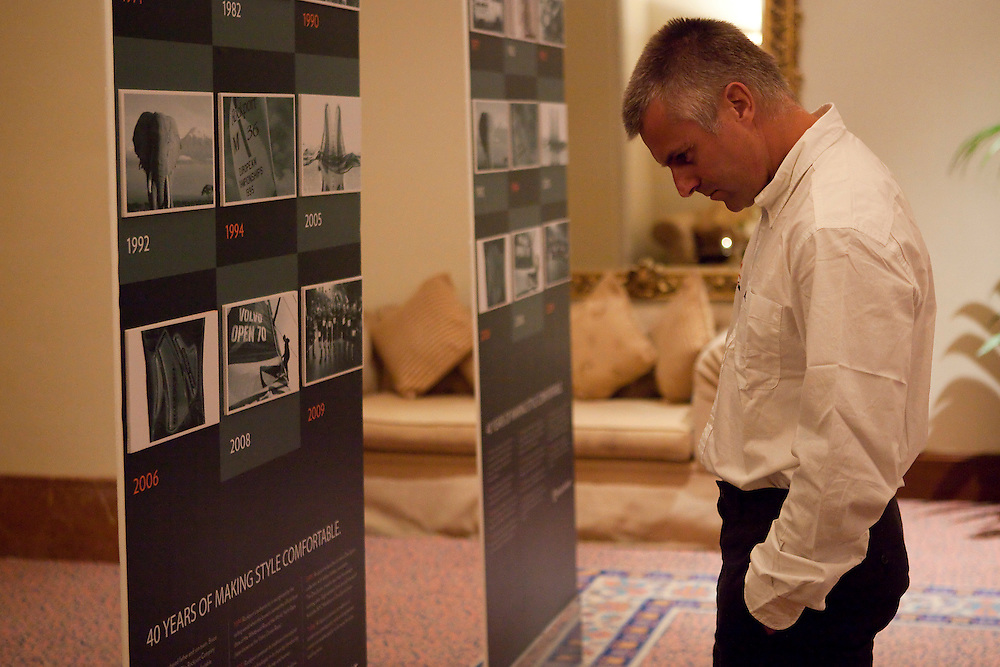 Albi Barovier ast the Rockport Gala Dinner at the Louis Vuitton Trophy Dubai. Dubai, United Arab Emirates, 22 November 2010. Photo: Subzero Images/Mascalzone Latino